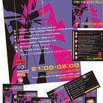 2004 | макет и печать афиши, пригласительных, CD