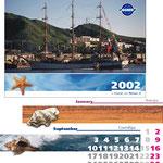 2001 | макет и печать календаря