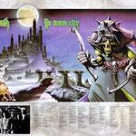 (макет © marka ) Nazareth. Постер посвященный выходу альбома No Mean City 1978.