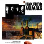 (макет © marka ) Pink Floyd. Постер посвященный выходу альбома Animals 1977.