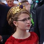 Die diesjährige Weinkönigin