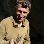 Walter mit Hämatit - Cavradi Sedrun Graubünden Schweiz