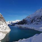 Skitour Zerveilasee - Vals Graubünden Schweiz