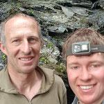 Hannes und Walter am Strahlen - Graubünden Schweiz