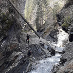 Wilde Schlucht - Strahlen Graubünden Schweiz