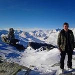 Gipfel Amperfreila - Vals Graubünden Schweiz