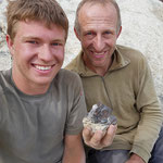 Hannes und Walter Casutt mit Gwindel - Schweiz