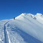Skitour Piz Tomül Gipfelgrat - Vals Graubünden Schweiz
