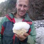 Walter am Strahlen - Eiskristalle Graubünden Schweiz