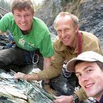 Hannes, Walter und Andri am Strahlen - Graubünden Schweiz