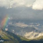Regenbogen - Frunthorn Vals Graubünden Schweiz