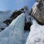 Eisklettern - Vals Schweiz Graubünden