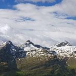 Valser Berge - noch liegt Schnee
