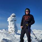 Piz Tomül Gipfelsteinmandli - Vals Graubünden Schweiz