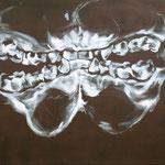 bouche - jan08 - huile sur toile, 140x120cm