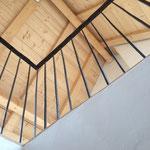 Blick ins Dachgeschoss