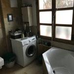 Bad mit Platz für Waschmaschine