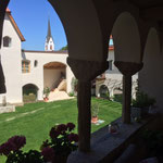 Blick vom Freisitz Whg 8 in den Innenhof