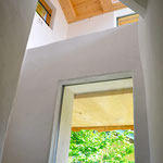 Blick von der Treppe nach oben