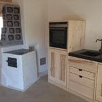 Küche und Ofen