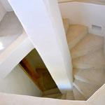 Blick in die Treppe