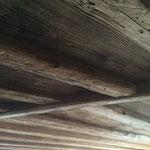 Altholzdecke im Wohnbereich