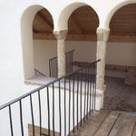 Whg 4: Blick vom Balkon zum Freisitz