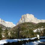Le rocher d'Archiane, terrain d'aventure des grimpeurs