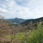 Le Puy de Lesches en Diois, vue depuis la Ferme