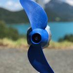 Effizienter 2 Blatt Propeller