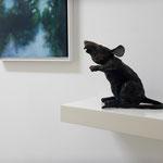 MANFRED MARIA RUBRECHT, BLICKRICHTUNG  2020 / 2021 – Galerie Rubrecht /foto: Nadine Tannreuther