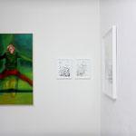 BLICKRICHTUNG  2020 / 2021, Impression – Galerie Rubrecht /foto: Nadine Tannreuther