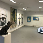 KunstRaum Ansicht: Rubrecht, Stichler, Straszewski, Kriesche, COLLECTORSROOM HOFHEIM, photo: LR