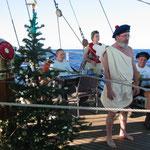 Spaß an Bord: mein Auftritt als Weihnachtsengel mitten auf dem Atlantik