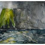Kap Hoorn, Aquarell 40x60 cm