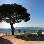 Platz in Juan-les-Pins