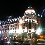 "Hotel ""Le Negresco"", Nizza by night"