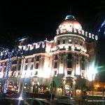 "Hotel ""Le Negresco"", Nizza by night"