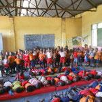 neuer Kindergarten von Father Denis in der Naehe der Schule