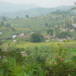Blick auf das Areal der Rugazi Central Primary School