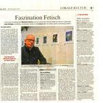 """Ausstellung """"Ordinary"""" in Mönchengladbach 2010 - Artikel Rheinische Post"""