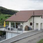 EFH nach Gebäudeprogramm mit Doppelgaragen- und Wohnerweiterung Zeiningen