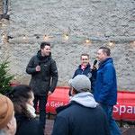 Eröffnung durch Bürgermeister Carsten Sittmann