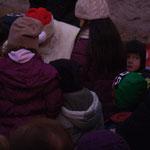 Der Weihnachtsmann besucht den Trewwerer Weihnachtsmarkt