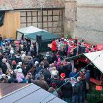 Der Weihnachtsmarkt war auch dieses Jahr wieder gut besucht!