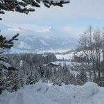 Tannheimer Tal, Blick auf unser Almhotel Told