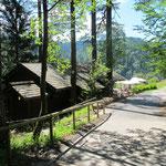 Abschluß in der Hütte im Tonbachtal