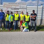 Trailgruppe zu Besuch bei Fa. Pruggmayer