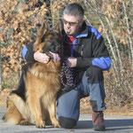 Adventwanderung 2015 Herrchens ganzer stolz. FIGO
