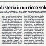 """Articolo uscito il giorno 26 ottobre 2013 sul quotidiano locale """"Il Piccolo"""""""